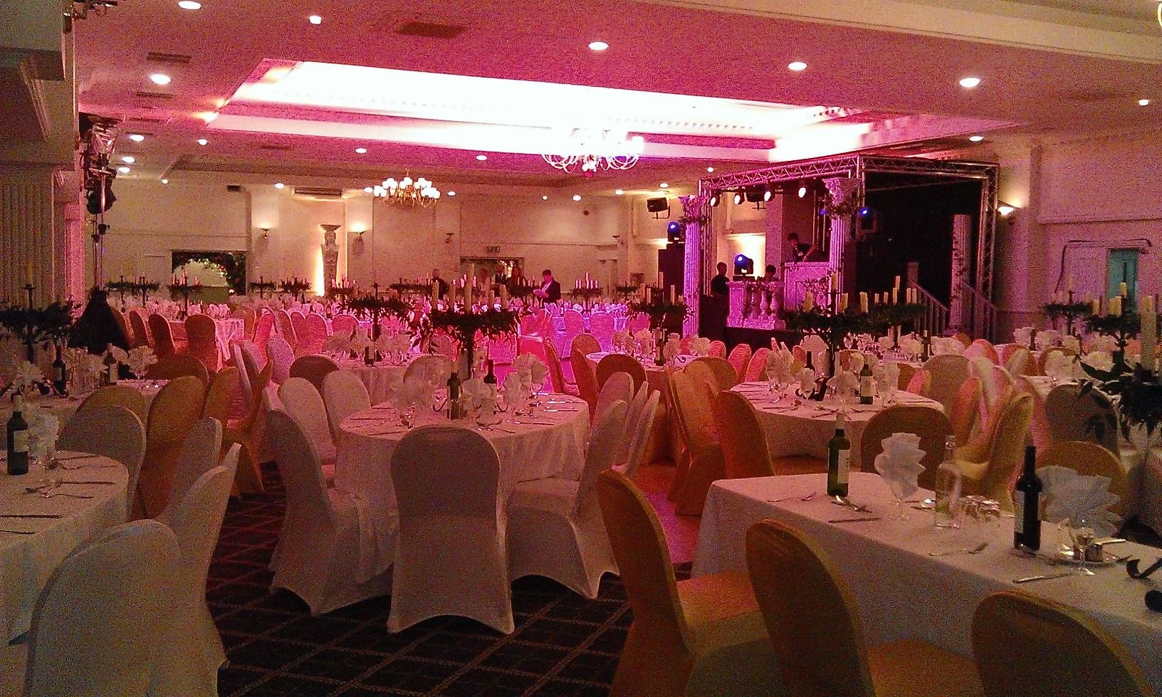 Wedding Room layout The H Suite Edgbaston Birmingham