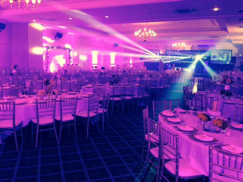 Wedding Venue Setup Edgbaston