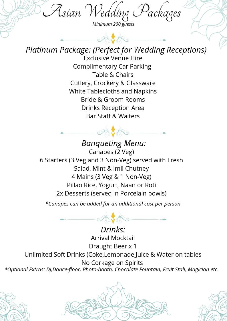Asian Weddings Venue Birmingham Traditional And Modern