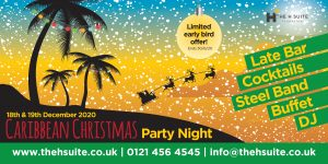 Caribbean Christmas Party Nights Birmingham 2020