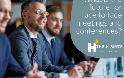 What is the future for face to face meetings and conferences?