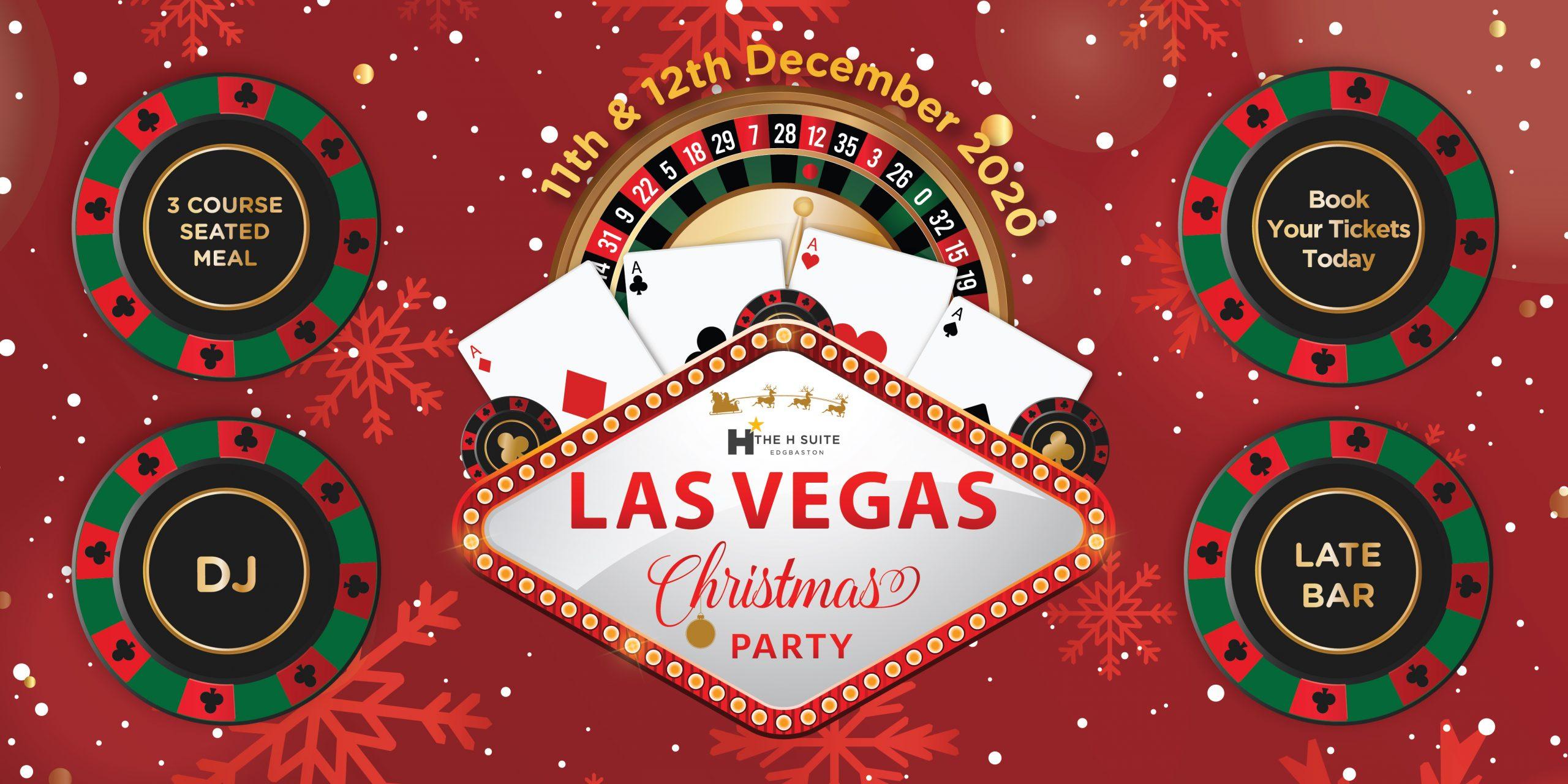 H Suite Las Vegas Christmas Party 2020
