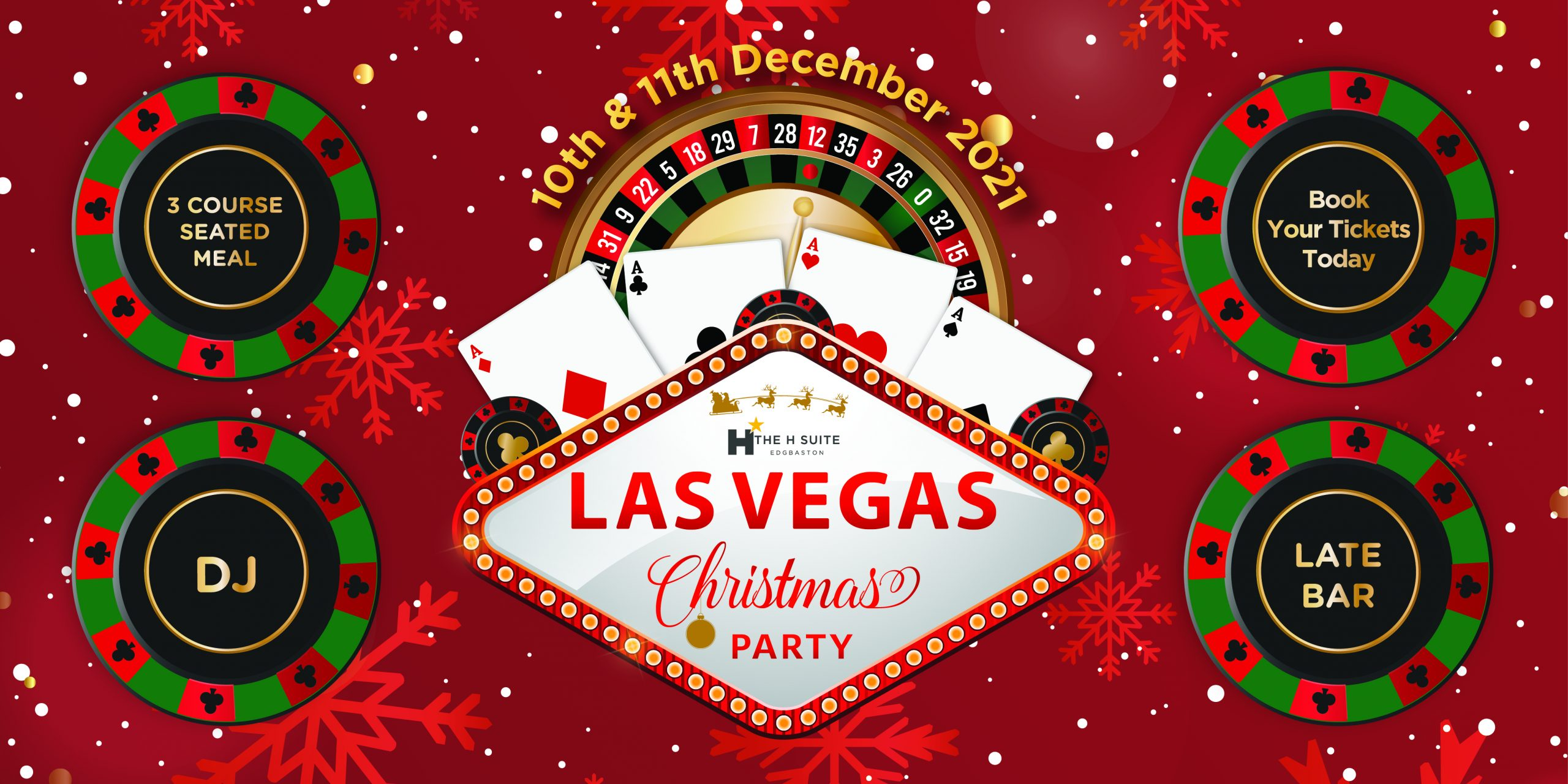 Las Vegas Christmas Party Nights Birmingham 2021