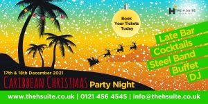 Caribbean Christmas Party Nights 2021 Birmingham